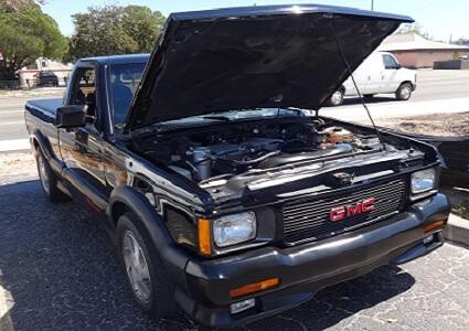 1991 GMC Syclone pickup truck