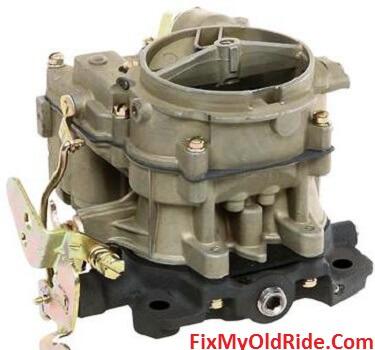 Rochester two barrel carburetor