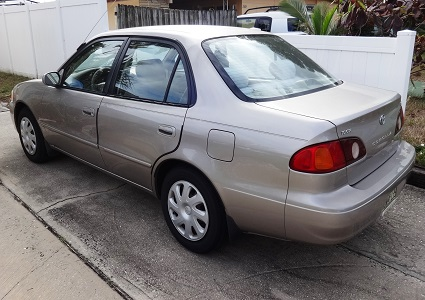 2002 Corolla by Toyota