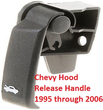 Broken Chevy Hood Release Handle