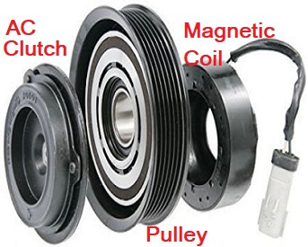 Car AC Compressor Clutch Diagram