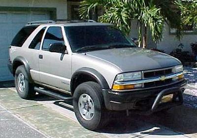 Chevrolet Blazer 2004 Model