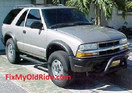 Chevrolet Blazer Vortec v6 Model