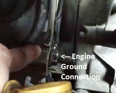 Chevrolet Engine Ground Location