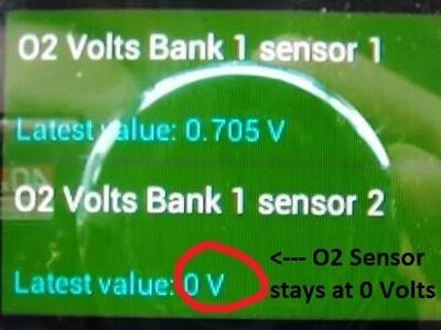 Chevrolet Oxygen Sensor Test