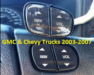 Chevrolet Steering Wheel Buttons