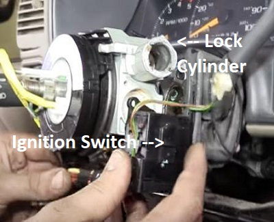 Chevrolet Truck Ignition Switch Problem on starter location on 2008 chevy colorado