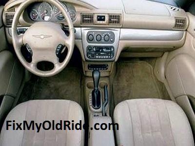 Chrysler Sebring with tan interior