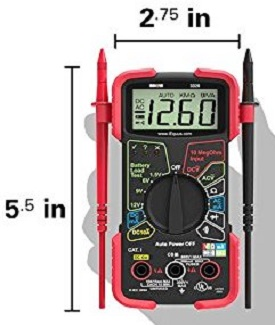 Compact Automotive Meter Tester