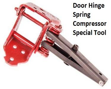 Door Hinge Spring Tool