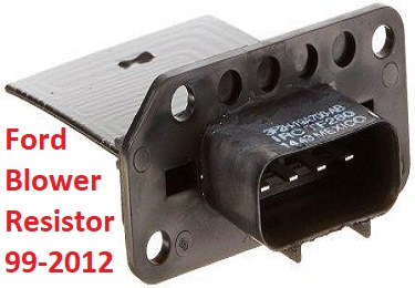 ford blower motor resistor part