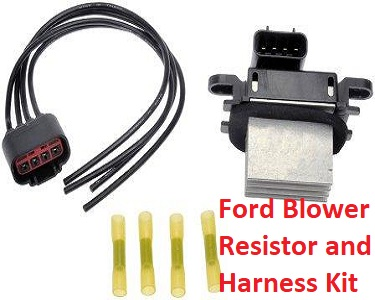 Ford Blower Resistor and Connector