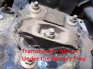 Ford Focus Transmission Mount Location Diagram