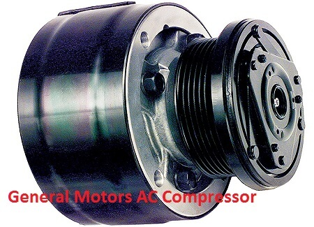 Old GM AC compressor