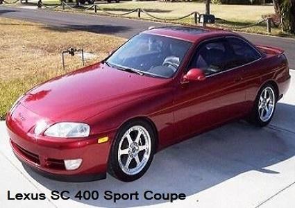Lexus SC 400 Sport Coupe