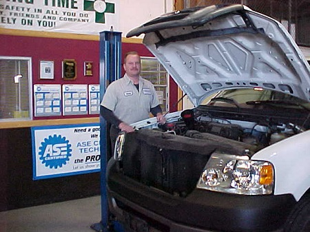 Me fixing Ford EGR codes