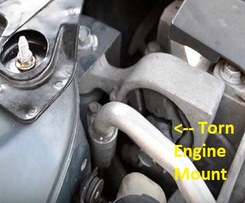 2005 nissan altima motor mount replacement cost