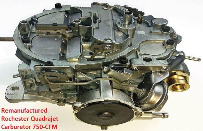 Rebuilt Rochester Quadrajet Carburetor 750 CFM