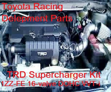 TRD Supercharger for Corolla