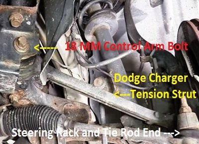 Diagnose and Repair Dodge Charger Front End Noise