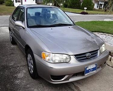 Toyota 2002 Corolla LE