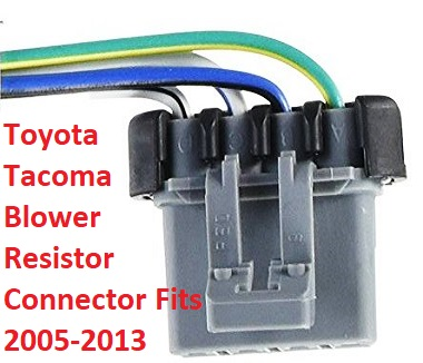 fix your toyota tacoma blower problems for good 2018 toyota camry wiring harness toyota blower switch wire harness connectors #8
