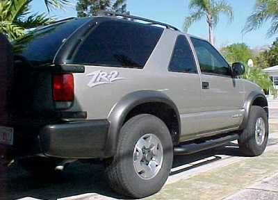 ZR2 Special Edition Chevy Blazer