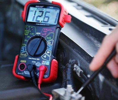 automotive electrical test meter