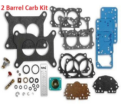 2 barrel carburetor overhaul kit