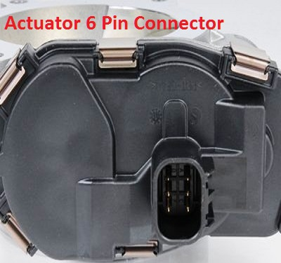 throttle actuator connector view