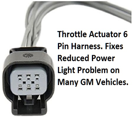 throttle actuator wiring harness