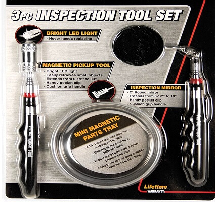 used car inspection kit