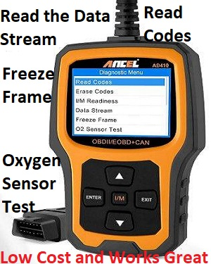 Ancel AD410 Car Diagnostic Code Reader