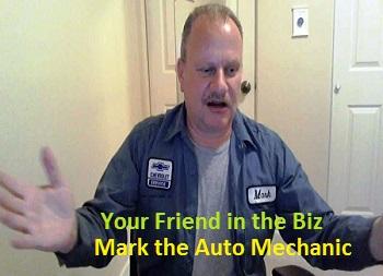 Image of Mark the car repair mechanic