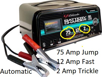 Automatic Car Battery Charger