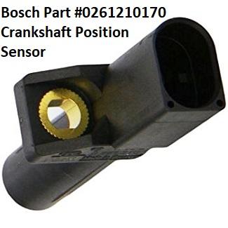Mercedes-Benz Crankshaft Position Sensor