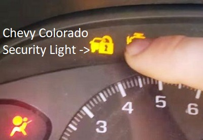 Chevrolet security light symbol