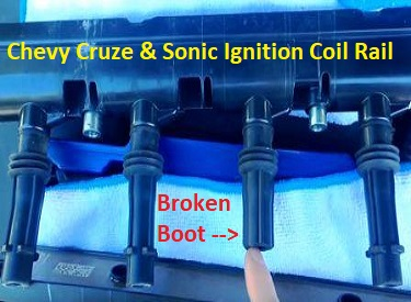 Chevy Cruze Ignition Coil Rail