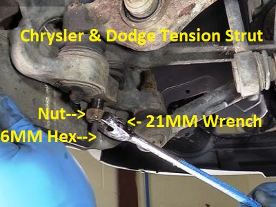 Chrysler Control Arm Strut