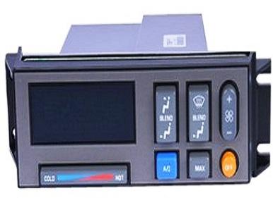 Car AC climate control unit