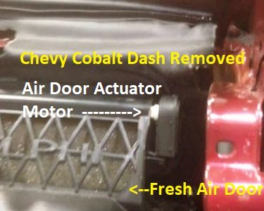Chevy Cobalt Air Door Actuator Diagram