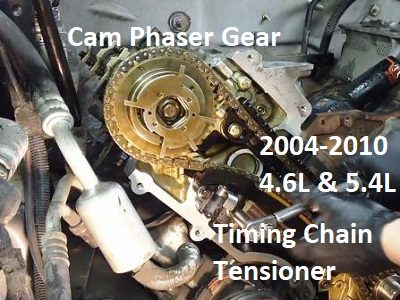 the ford triton timing chain problem and solution 5.4 Triton Engine