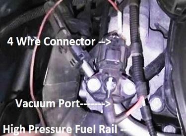 Ford fuel rail sensor diagram