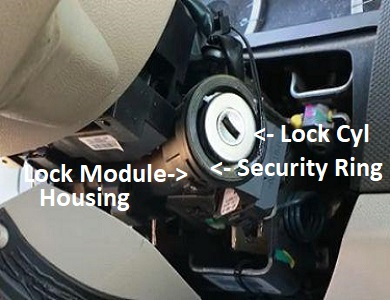 Ford ignition lock repairs