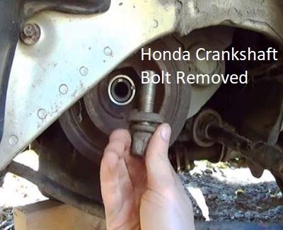 Honda Crankshaft Bolt