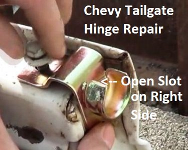 How to remove a Chevy tailgate