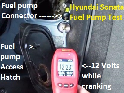 Diagnose and Repair Hyundai Sonata Fuel Pump Issues