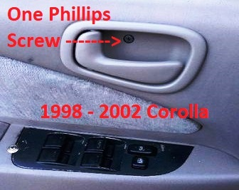 Interior Door Handle Toyota Corolla