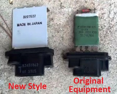 Toyota Tacoma Blower Resistor Comparison