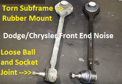 New Chrysler Dodge Control Arm Tension Strut